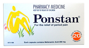 Ponstan Caps 250mg