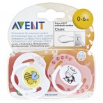 Avent Soothers 6M + 2