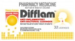 Difflam Honey/Lemon S/F Loz