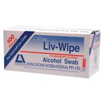 Liv-Wip Alc Swab