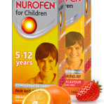 Nurofen Suspension Strawberry 5-12yrs
