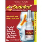 Sudafed Nasal  Spray Pump
