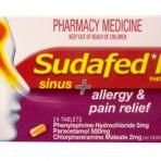 Sudafed PE Sinus/Allergy/Pain