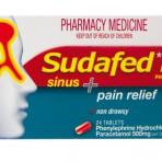 Sudafed PE Sinus/Pain