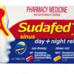 Sudafed Sinus Day/Night Tab